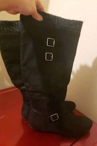 Black Boots from Just Fab size 9