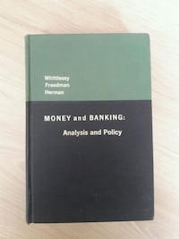 Money and Banking: Analysis and Policy   Istanbul
