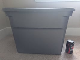 Box 18 gallon storage container