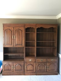 Three piece Solid Wood Cabinet Rochester Hills, 48309
