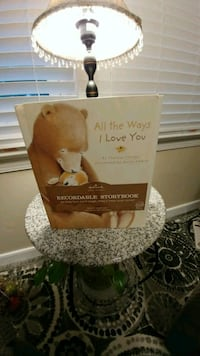 """All The Ways I Love You"" Recordable Storybook Fredericksburg, 22407"