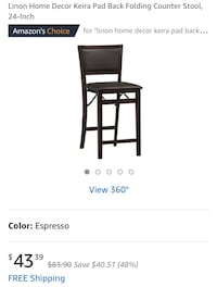 black wooden table with chairs screenshot Bakersfield, 93306