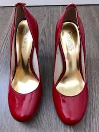 Michael Kors Red high heels Port Coquitlam, V3C