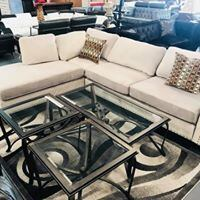 sectional with pillows Houston