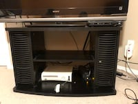 Tv stand with CD holders.  Calgary, T3J 5E6