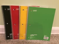 School Supplies- Spiral Notebook  Garrison, 21117