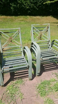5 iron chairs  Montville, 06370