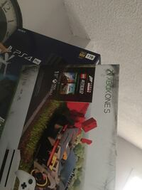 Xbox 1 x (includes 3 games)