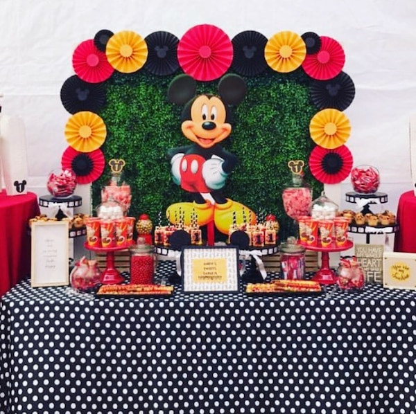 Mickey Mouse Birthday Decoration Rental HomeOther Saratoga