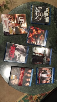 assorted Blu-Ray disc cases 554 km