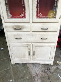 Vintage White wooden 6-drawer pantry cabinet  Fairfax, 22030