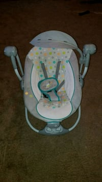 baby's gray and white swing chair Beltsville, 20705