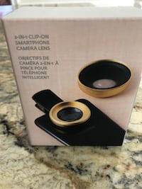 2 in 1 clip-on smartphone camera lens not negotiable.