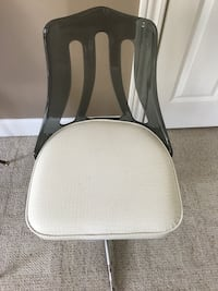 white and gray metal chair Elkhart, 46516