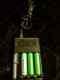 green and black battery charger Hampton, 23669