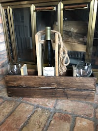 Rustic Wine rack and holder