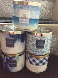 Brand New Spring Scents, White Barn, Bath and Body Works Scented Candles  Toronto, M4A 1A3