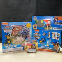 Paw Patrol Toy and Game Lot