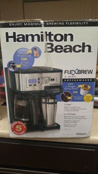 Hamilton Beach coffee maker exactly  Burnaby, V5A 3Z1
