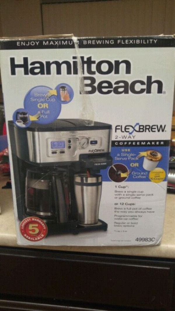 Hamilton Beach coffee maker exactly
