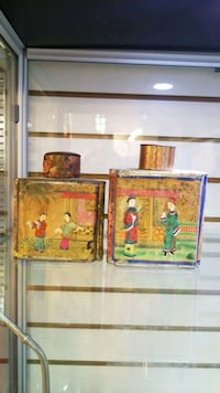 chinese Qing dynasty tea caddy (empty) Toronto, M5T 2C2