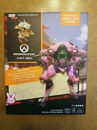 New Overwatch meka model Ottawa, K2G 4E9