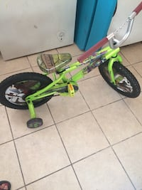 toddler's green training bicycle New York, 10472