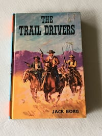 The Trail Drivers vintage western book Toronto