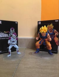 Pack goku y frezzer Madrid, 28010