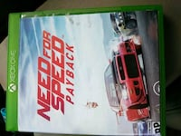 Xbox One Need for Speed Payback case