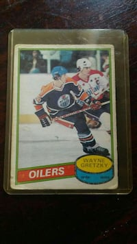 Oilers Wayne Gretzky collectible card Vaughan, L4H 1M6