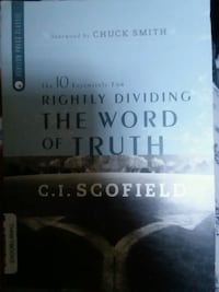 Rightly Dividing The Word by C.I. Scofield  Bristol, 37620