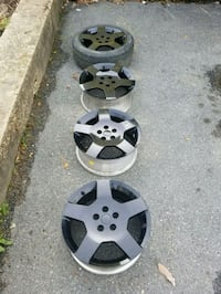 4 rims dont know what they came off of. Halethorpe, 21227