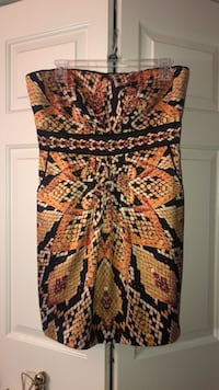 strapless  dress with pockets, size large Remington, 22734