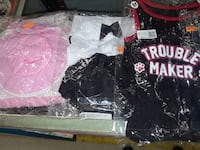 Xs and sm pet clothes $5-$8