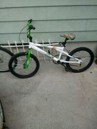 white and green BMX bike Brooklyn, 11226