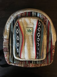 Mini hemp backpack thc free like new, no signs of wear.  Silver Spring, 20902