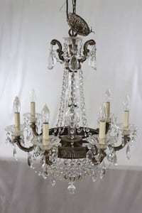 Schonbek 5077 7 Light Swarovski Lighting La Scala Empire Chandelier Hapeville
