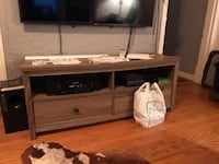 Brown wooden tv stand with cabinet San Francisco, 94133