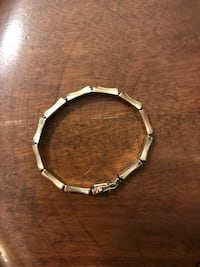 14k gold italy bamboo bracelet/bangle - heavy and no dings. Mechanicsville, 23116