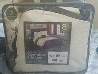 white Pierce complete bed set pack