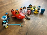 Octonauts Figures & Bath Set Sterling, 20165