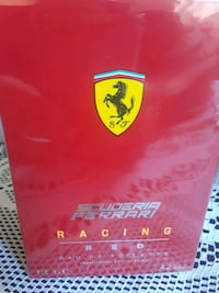 125 ML red Scuderia Ferrari racing eau de toilette box Silver Spring, 20902