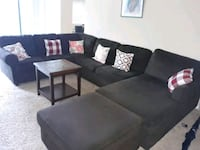 Chocolate brown sectional  Silver Spring, 20901