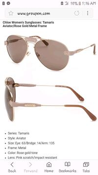 gold-colored framed Ray-Ban aviator sunglasses Tulsa, 74116