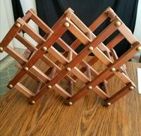 Wood Collapsible Wine Rack South Milwaukee, 53172