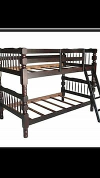 Twin over twin bunk bed frame