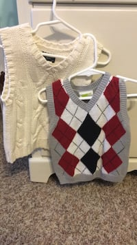 white, red, and black argyle sweater Daphne, 36526