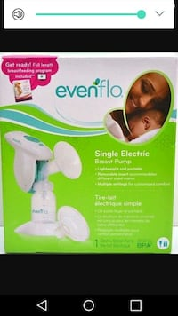 Evenflo electric breast pump Edmonton, T6J 2P2