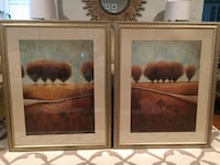 2 Large Framed Pictures  Greensboro, 27455